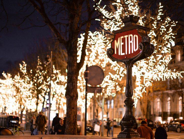 Новый год и Рождество в Париже