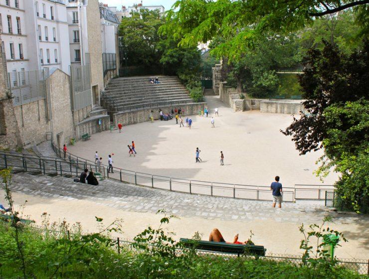 Арены Лютеции в Париже