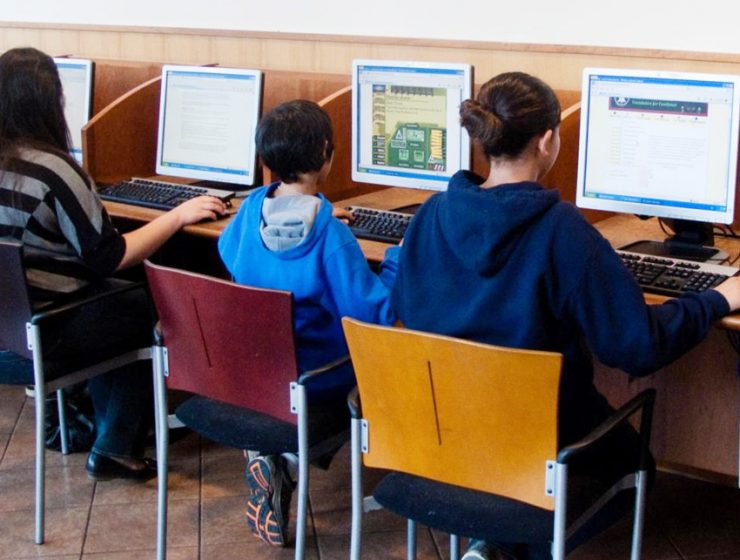 Интернет-кафе в Париже
