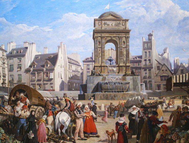 Легенды Парижа: фонтан Невинных
