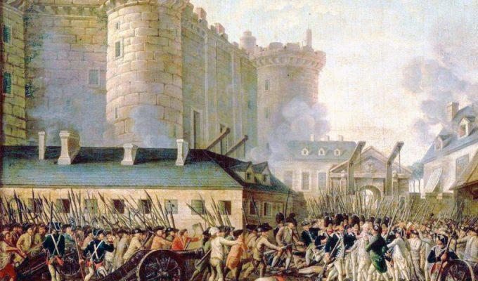 Бастилия, от тюрьмы до площади