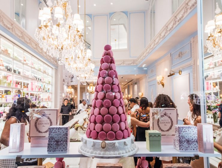 Кондитерский дом Laduree и знаменитые macarons