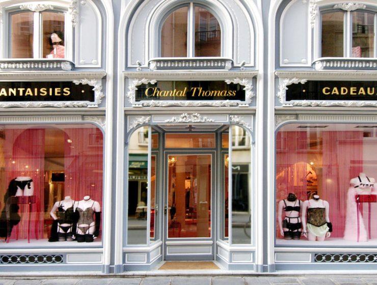 Магазины нижнего белья в Париже