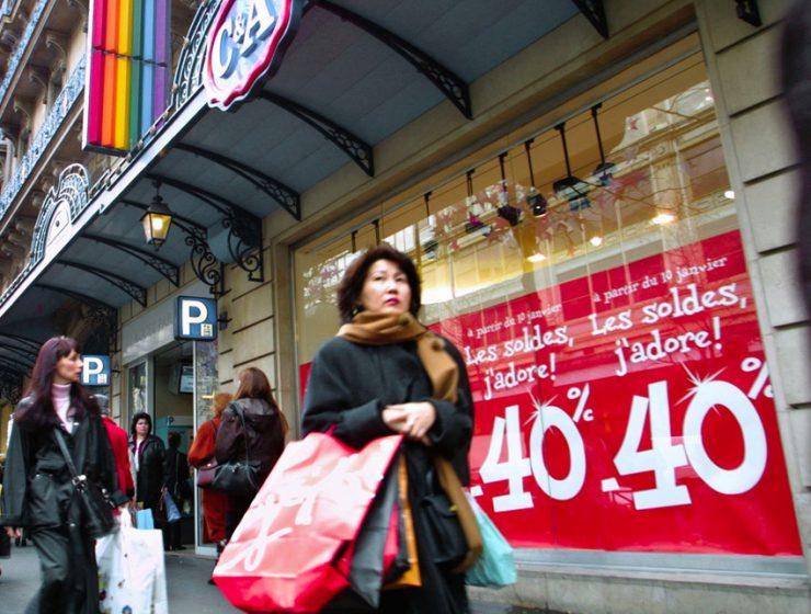 Распродажи в Париже 2013