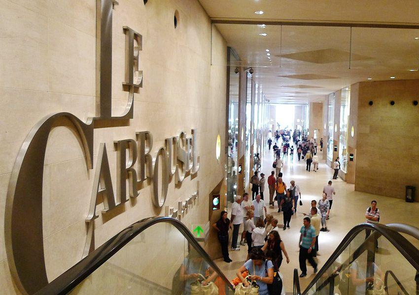 Торговый центр Le Carrousel du Louvre в Париже