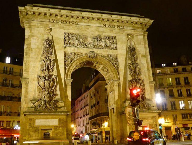 Ворота Сен-Дени в Париже