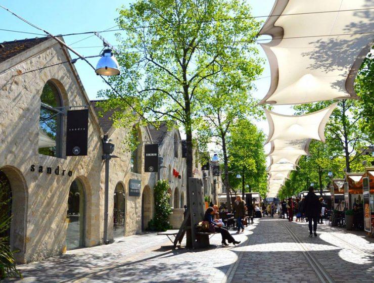Торговый комплекс Bercy Village в Париже