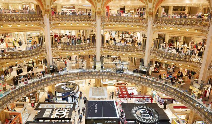 Гранд-магазины Парижа