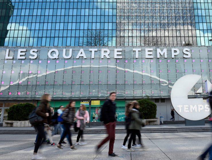 Торговый центр Les Quatre Temps в Париже